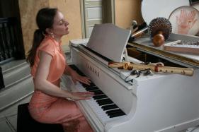 Constance Mattheus ist Ministerin für Musik in die Stille (Foto: Constance Mattheus)