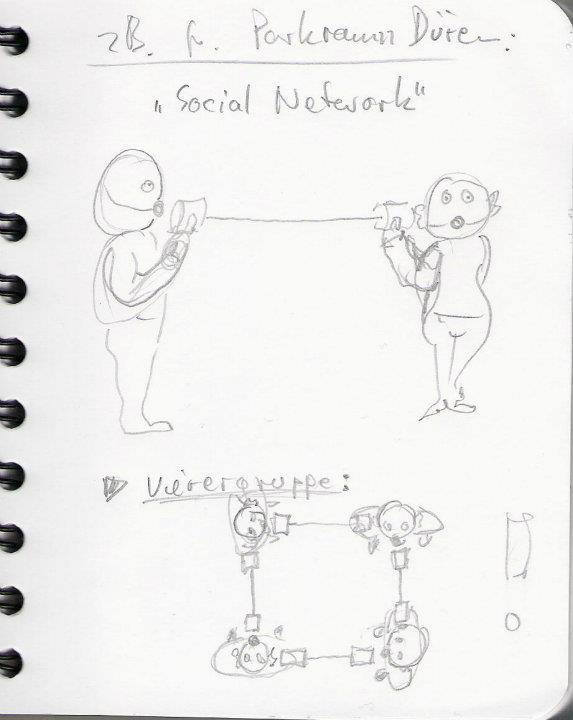 'Social Network', Gagballbabies, by Triloff.